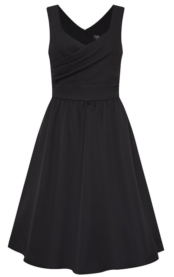 Dolly & Dotty May Dress in Black