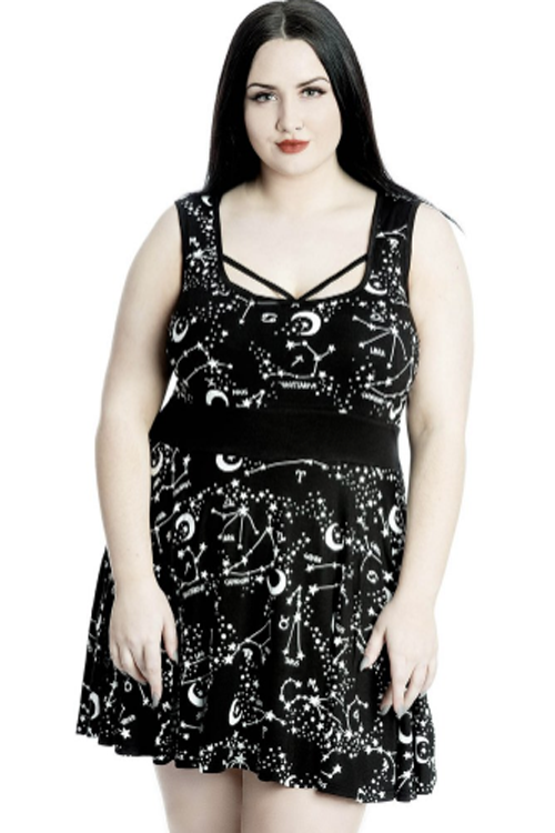 Killstar Milky Way Skater Dress