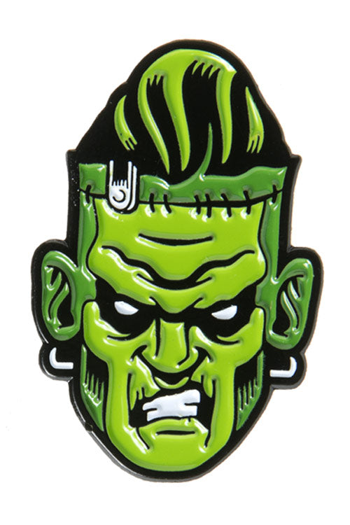 Kustom Kreeps Monster Attack Enamel Pin