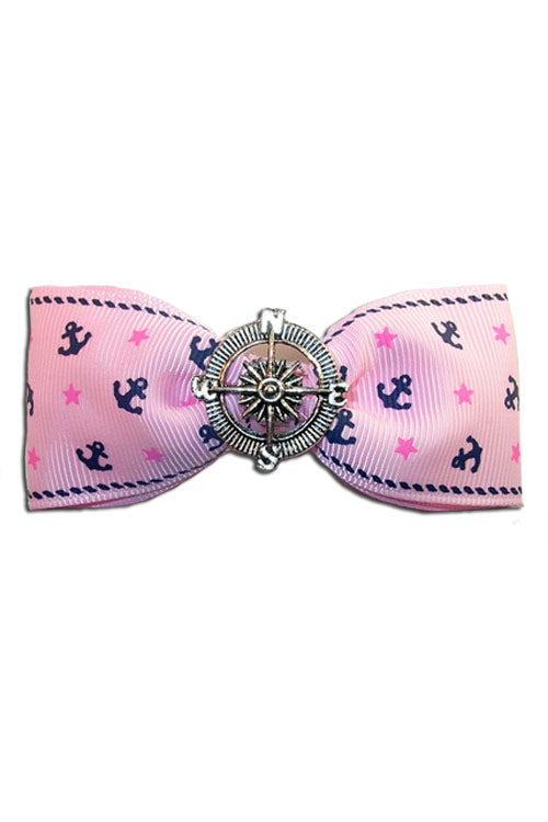 Nautical Bow in Pink