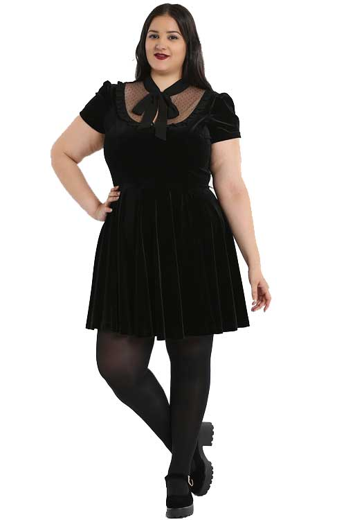 Hell Bunny Nova Velvet Dress