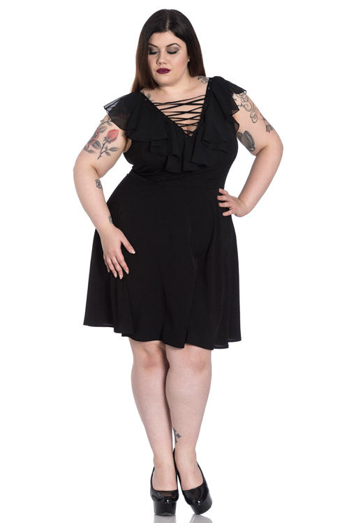 Hell Bunny Onyx Dress