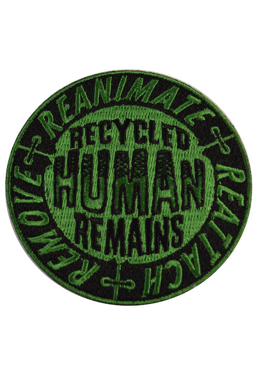 Kreepsville 666 Iron on Patch of Recycled Human Parts