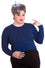Hell Bunny Paloma Cardigan in Navy Blue