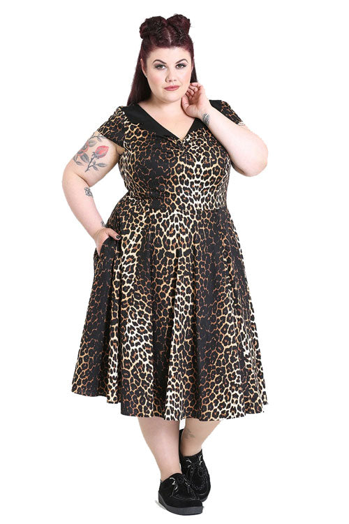 Hell Bunny Panthera 50's Dress