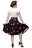 Steady Plaid on Parade Thrills Skirt with Pockets in Burgundy