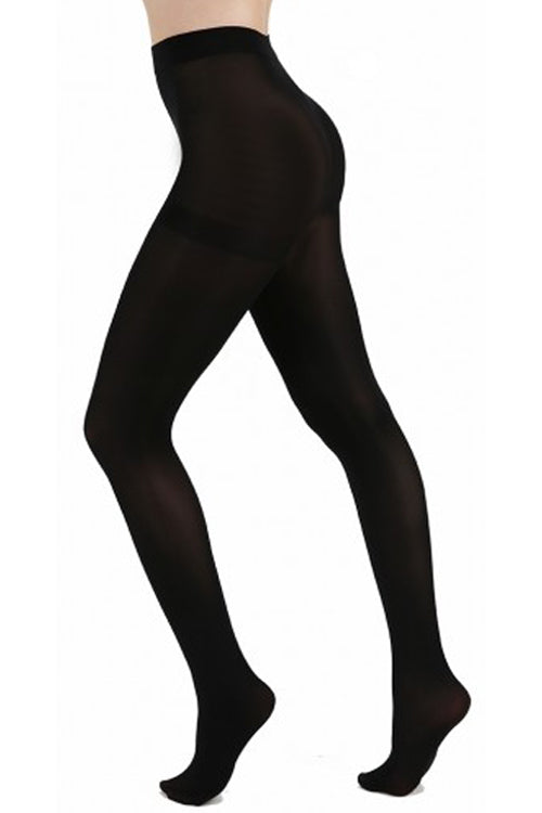 Pamela Mann Hosiery 80 Denier Opaque Pantyhose in Black