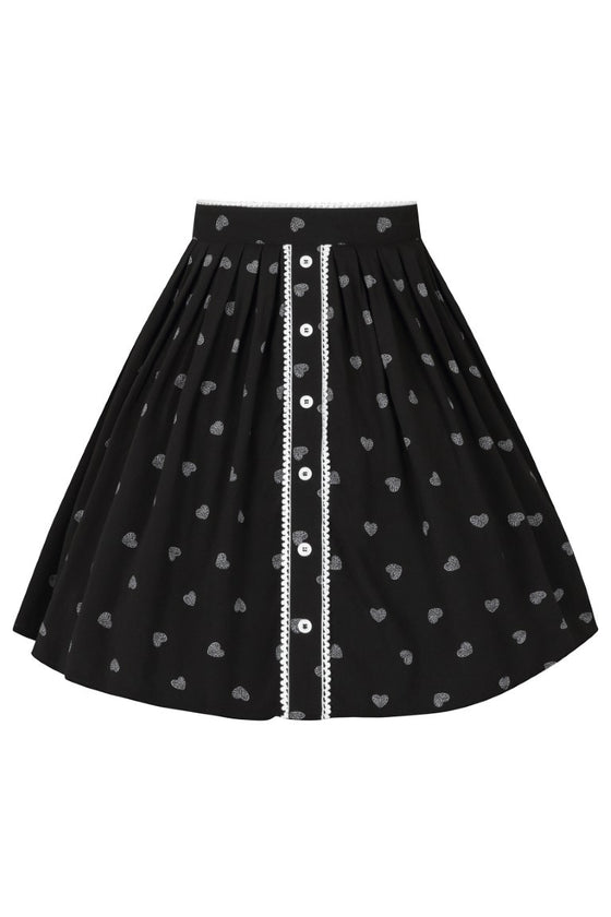 Hell Bunny Ribcage Mini Skirt