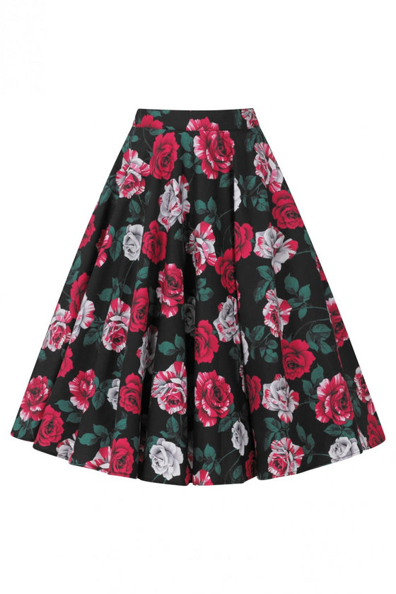 Hell Bunny Ruby 50's Skirt