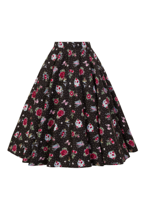 Hell Bunny Stevie 50's Skirt