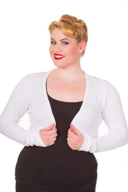 Banned Flickers Bolero / Shrug in White