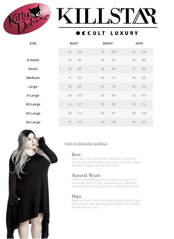 Killstar Envelope Me Cocoon Cardigan