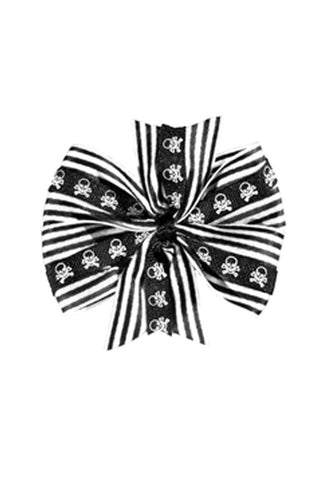Deluxe Skull Bow in White