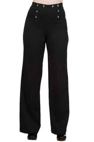 Banned Stay Awhile Trousers in Black