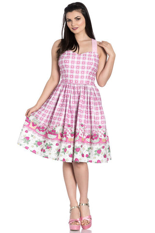 Hell Bunny Strawberry Shortcake Dress