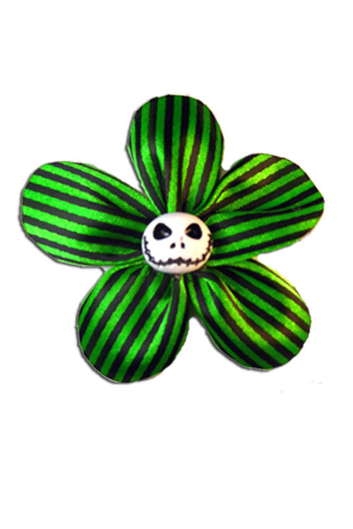 Krazy Daisy in Green Stripes