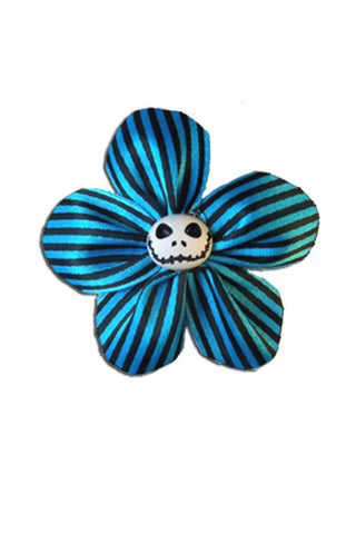 Krazy Daisy in Blue Stripes