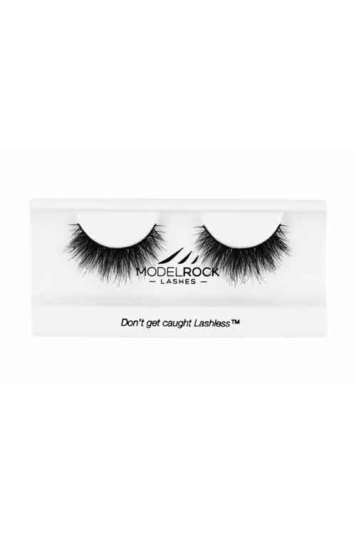 Model Rock Double Layered Lashes in Tatiki