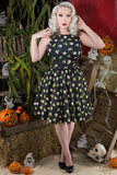 Lady Vintage Tea Dress in Dead Thumbs Up