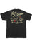 Lucky 13 Mens Black T-Shirt in Vintage Iron