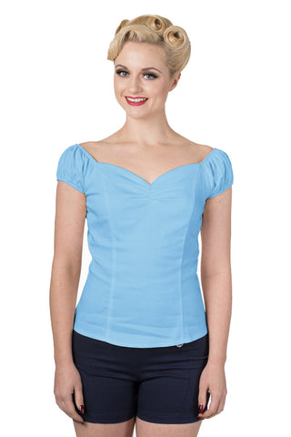 Banned Winnie Top in Blue