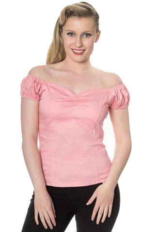 Banned Winnie Top in Pink