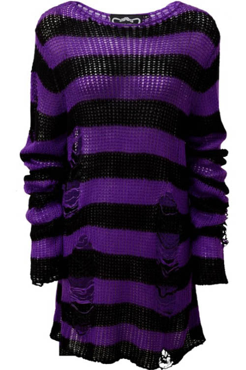 Killstar Wonka Punk Knit Sweater