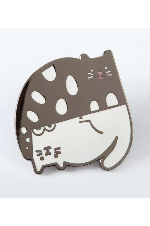 Punky Pins Ying and Yang Cats Enamel Pin