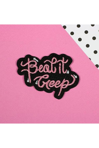 Punky Pins Beat It Creep Patch