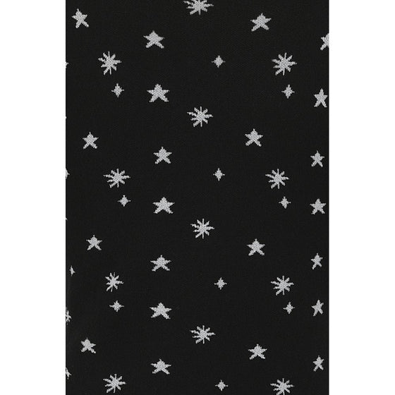 Collectif Chrissie Knitted Top in Night Sky Design