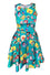 Offend My Eyes Drag Queen Teal Skater Dress