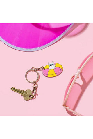 Punky Pins Cool Kitty Keyring