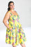Hell Bunny Kalani 50's Dress in Yellow