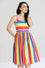 Hell Bunny Over The Rainbow 50's Dress