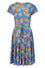 Hell Bunny Castellana Dress in Blue - I'm Eco-Friendly!