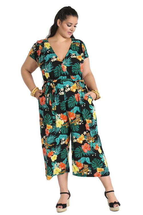 Hell Bunny Bali Jumpsuit