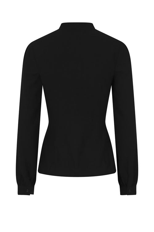 Hell Bunny Adelia Blouse in Black