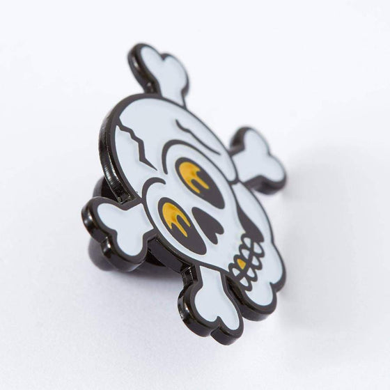 Punky Pins Skull Tattoo Inspired Enamel Pin