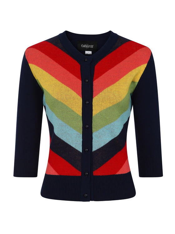 Collectif Serenity Rainbow Cardigan