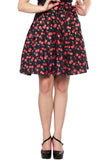 Sourpuss Cherry Cobbler Skirt
