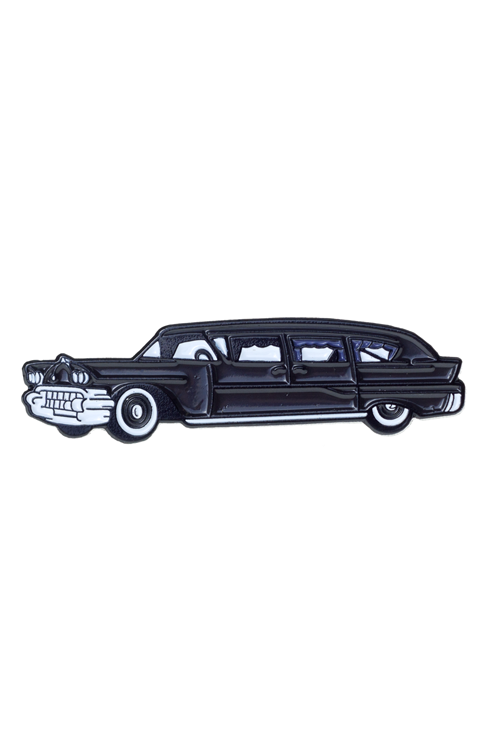 Sourpuss Hearse Enamel Pin