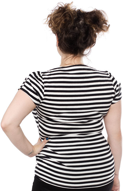 Sourpuss Honey Striped Top