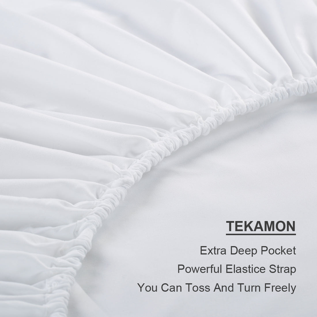 Microfiber Bed Sheet Set Made Of 1800 Thread Count 100 Microfiber