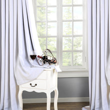 TEKAMON Thermal Insulated Blackout Grommet Curtains for Living Room/Bedroom (70% white)
