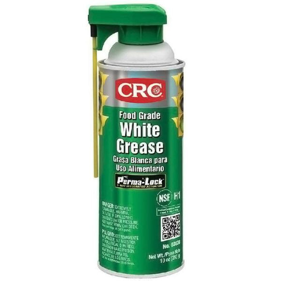 CRC - (3038) Food Grade White Grease, 10 Wt Oz, Singles & Cases - incl VAT - Chemqua