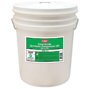 (4202) Food Grade Synthetic Compressor Oil ISO 32/46, 5 Gal - incl VAT - Chemqua