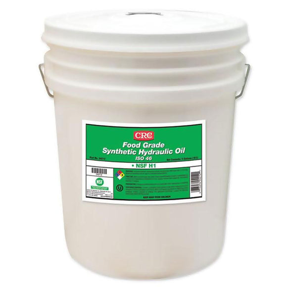 CRC - (4212) FOOD GRADE SYNTHETIC HYDRAULIC OIL ISO 46, 5 GAL - incl VAT - Chemqua