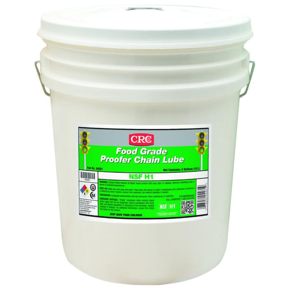 CRC - (4261) FOOD GRADE PROOFER CHAIN LUBE, 5 GAL - incl VAT - Chemqua