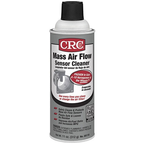 CRC - (5110) MASS AIR FLOW SENSOR CLEANER, 11 WT OZ, SINGLES & CASES - incl VAT - Chemqua