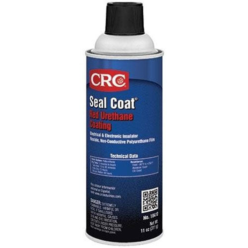 CRC - (18410) SEAL COAT®RED URETHANE COATING, 11 WT OZ, SINGLES & CASES - incl VAT - Chemqua